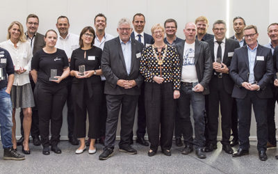 Gladsaxe-virksomheder modtager erhvervspris for deres fælles sociale indsats